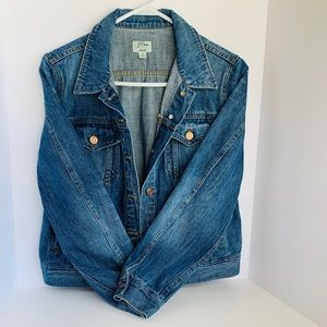 J Crew Large Denim Jacket